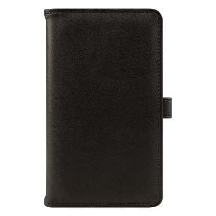 Pocket FC Basics Slim Simulated Leather Open Wire-bound Cover - Black by Franklin Covey