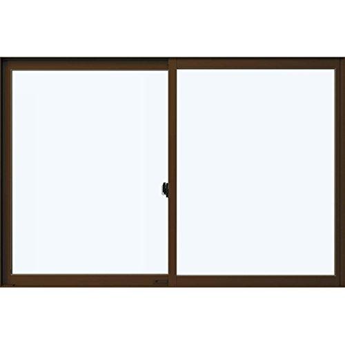 YKKap アルミサッシ 引違い窓 フレミングJ 単板硝子 サッシ寸法W(巾)1690*H(高さ)1170ミリ 16511 B00OYUBB96 プラチナステン(H2)