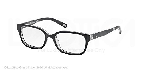 Ralph Lauren - Montures de lunettes - Homme - Bleu marine/blanc