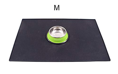 Reptile Heat Pad JSC Houses, Kennels & Pens Lekexi Waterproof Design Square Silicone Pet Feeding Eat Drink Mat Keeps Floors Clean Anti Spill Supplies Puppy Food Placemat by Tini 1 PCs