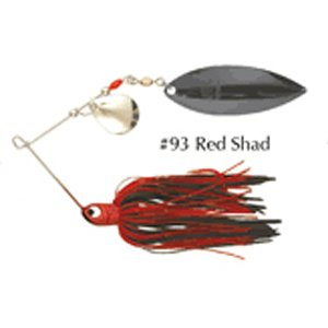(Northland Tackle RRS5C-93 Reed-Runner Classic Sine 6/Bag Bait, Red Shad, 3/8)
