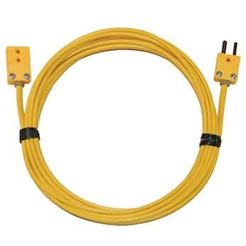 - Digi-Sense Type-K, Extension Cable, Mini Connector, 10ft, 20-Gauge