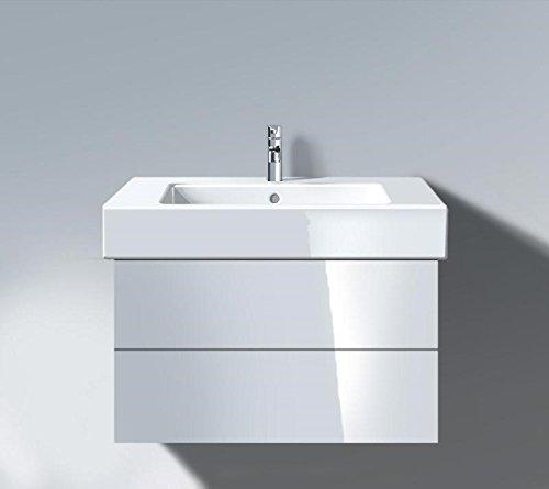 Vanity Unit Duravit (Duravit DL632008585 DL Vanity Unit 470x800 White HighGl 448x800x470mm, f.032985, 2 drawers, High Gloss/Lacquer)