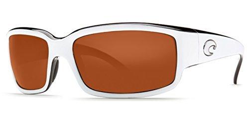 Costa Del Mar CL30OCGLP Caballito Sunglass, Black White Copper