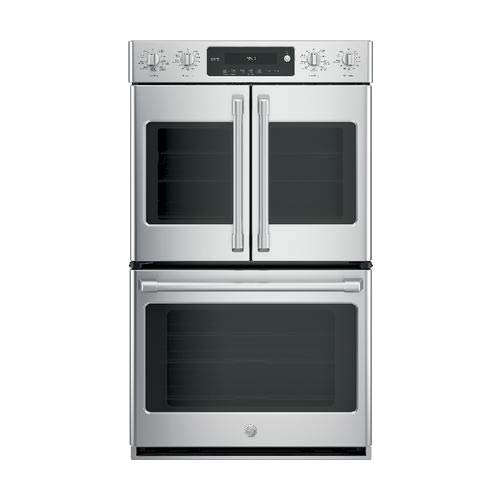 - GE Cafe CT9570SLSS 30 Inch Smart 10 cu. ft. Total Capacity Electric Double Wall Oven with 6 or More Oven Racks in Stainless Steel