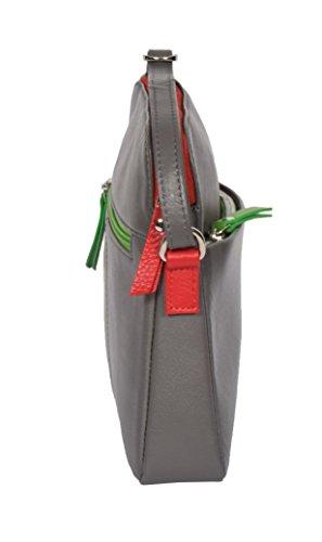 Gris Of Souple Cuir Corps Leather Épaule Dames Sling Sac House Petit Ellie Organisateur Croisé Voyager 6BdxTwTq