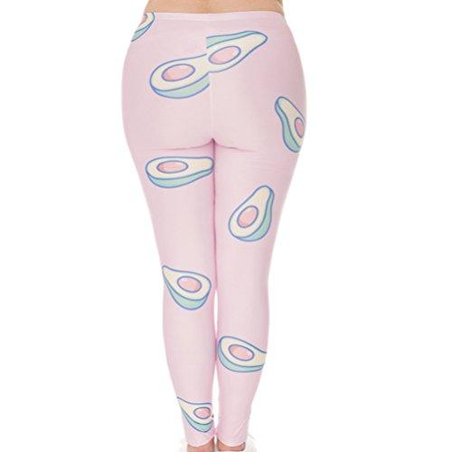 Kindred - Leggings sportivi -  donna Rosa Pink Taglia unica