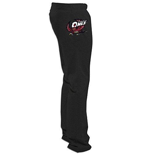 Price comparison product image RABBEAT Temple University Owls Comfortable Leisure Sweatpants Mens Leisure Wear
