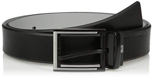 PGA TOUR Men's Laser Logo Reversible Belt, black, 40