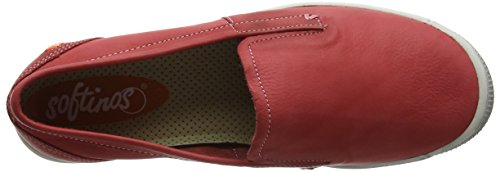 Femme Ita298sof Softinos Rot Washed Mocassins red ntWWF6S1