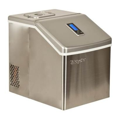Portable Stainless Steel Clear Ice Maker