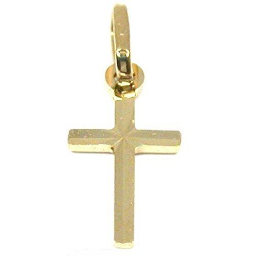 14K Gold Cross Pendant Charm Religious Crucifix ()