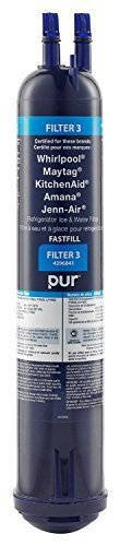 Whirlpool 4396841 PUR Push Button Side-by-Side Refrigerator Water Filter image