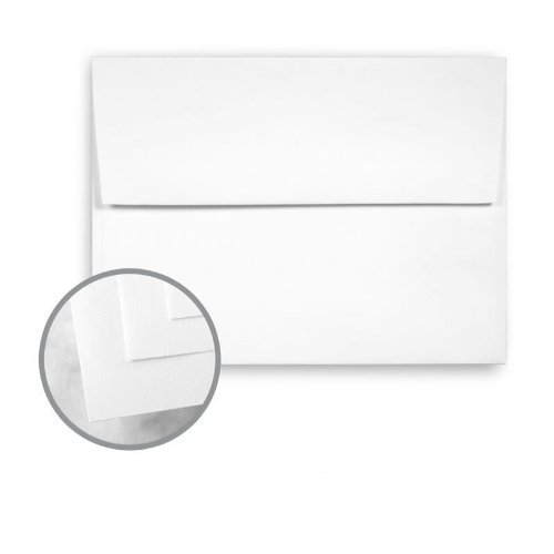Neenah Classic Crest Text - CLASSIC CREST Solar White Envelopes - A2 (4 3/8 x 5 3/4) 70 lb Text Smooth 250 per Box