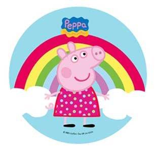 Anglesit Brands Peppa Pig - Decoración para Tarta para 21 cm ...