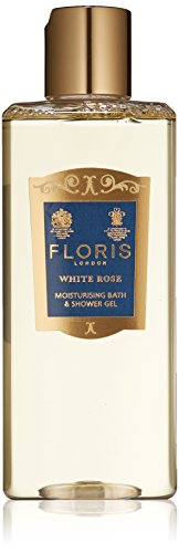 Floris London White Rose Moisturising Bath & Shower Gel, 8.4 Fl Oz