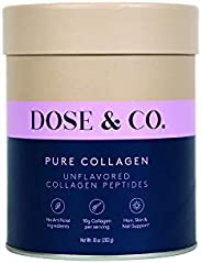 Dose and Co Pure Bovine Flavorless Collagen Powder
