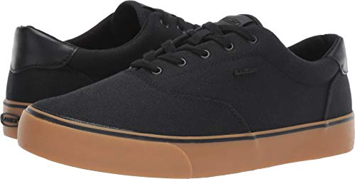 Lugz Men's Flip Sneaker, Black/Gum, 10.5 D US (Shoes Cheap Men Skate For)