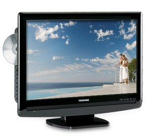Toshiba 19LV505 19-inch 720p LCD HDTV with Built In DVD Player
