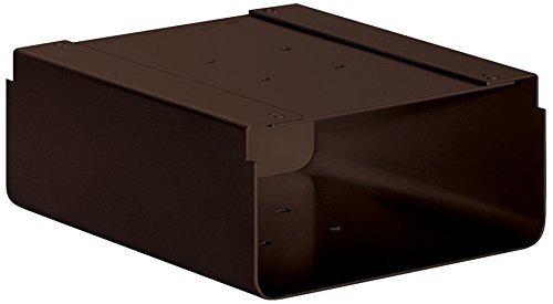 Salsbury Industries 4315D-BRZ Newspaper Holder for Designer Roadside Mailbox, Bronze by Salsbury Industries