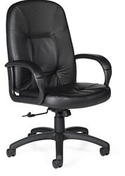 Global Arno Deluxe 4009 Ergonomic Leather Chair @ Office Chairs Outlet