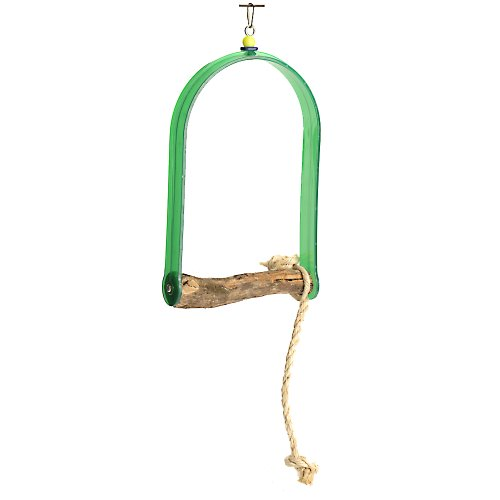 Polly's Hardwood Arch Swing for Birds, X-Large by Polly's
