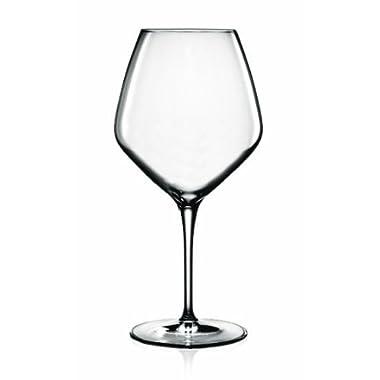 Luigi Bormioli Prestige 20 1/4 ounce Pinot Noir Wine Glasses, Set of 4