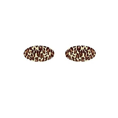 Fancy Face Paint Color Halloween Instant Cheetah Eyeshadow (Halloween Eyeshadow Decals)