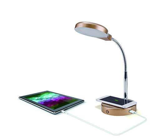 Mainstays Coral USB LED Desk Lamp (Black)