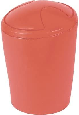 Rot Spirella Rosso Secchio per la Spazzatura 1016381 Sydney 3 L Rot