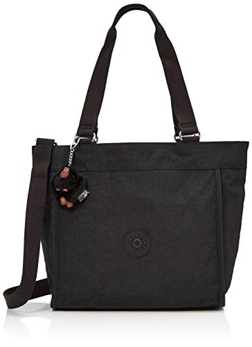 Shopper Tote New - Kipling New Shopper S, Women's Tote, Black (True Black), 13x42x27 cm (B x H T)