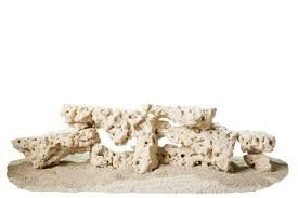 CaribSea Aquatics South Seas Base Rock Shelf, 40-Pound ()