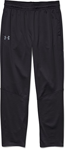 Under Armour ColdGear Infrared Grid Pant - Mens Black / Black / Graphite (Under Armour Coldgear Bottoms)