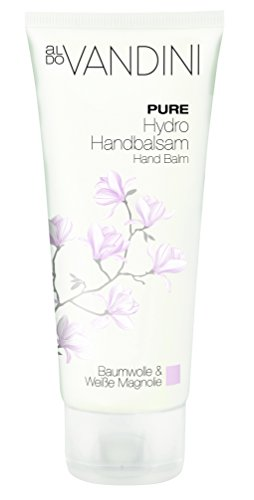 Hydrating Hand Cream Imported From Germany Vegan Paraben Free 100 ml Lightweight Moisturizing Cream Elegant Magnolia Blossom Scented by PURE aldo Vandini®