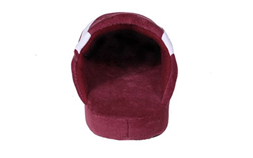 Pro Mens Slippers Mississippi LICENSED and Happy Low College Womens OFFICIALLY State Bulldogs NCAA Feet HwSx5qvz