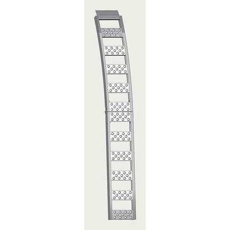 Folding Arch Ramp, 750 lb., PK2 (Folding Arch Ramp)