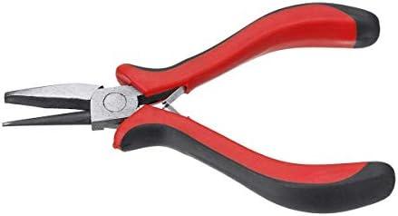 CLJ-LJ ツール多機能ツールを固定プライヤーラウンドノーズプライヤー凹リングワイヤービーズルーピングジュエリーメイキング