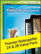Premier Piano Course, Notespeller 2A & 2B (Value Pack) - By Gayle Kowalchyk and E. L. Lancaster - Value Pack