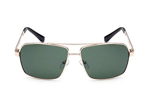 de Gafas FlowerKui polarizadas de UV400 clásicas sol sol Gafas protectoras de Golden los de conducción hombres qUwfTq4z