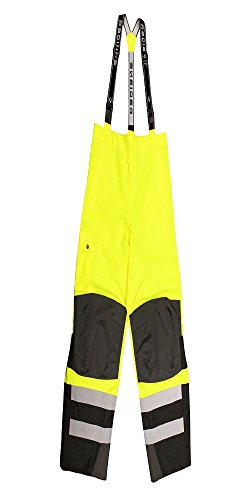 Radians RW32-EZ1Y-2X Class E Heavy Duty Rain Bibs, XX-Large, Green by Radians (Image #7)