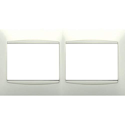 Bjc - 21212 marco 2 elementos horizontal coral blanco Ref. 6530510182: Amazon.es: Bricolaje y herramientas
