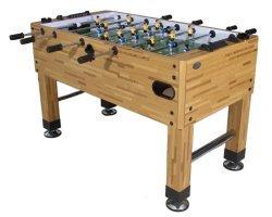(Berner Billiards Premium Foosball Table in Butcher Block with Both 1 & 3 Man Goalie)