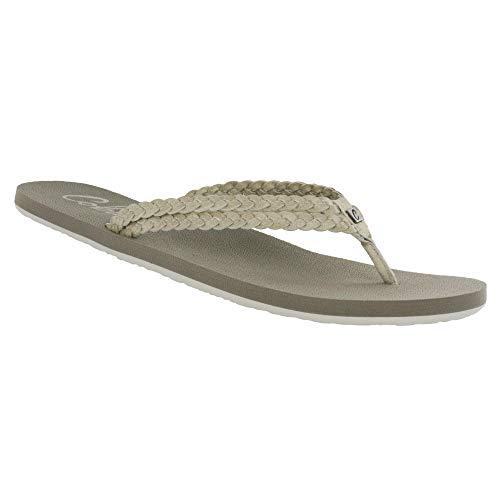 Cobian Leucadia Women's Flip Flop Sandal - Bone