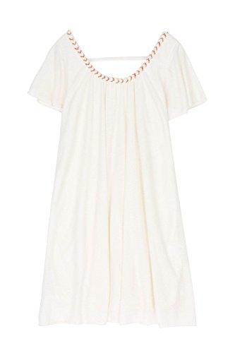 CHERRY PARIS - Vestido - vestido - Cuello redondo - Sin mangas - para mujer Beige