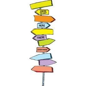 - * DR SEUSS BLANK DIRECTIONAL SIGNS MINI BB SET - EU-847003