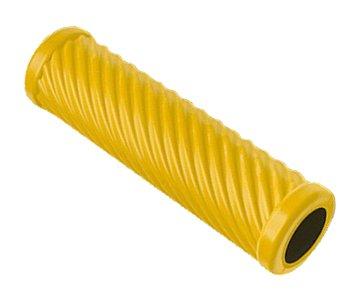 PINOFIT® Faszienroller WAVE die schlaue MASSAGE- und THERAPIE-ROLLE in 6 trendigen Farben,inkl. Übungsanleitungsheft (WAVE SAFRAN)