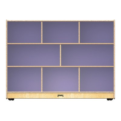 Toddler Super Sized Single Mobile Cubby Color: Lilac