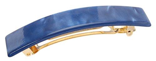 France Luxe Classic Rectangle Barrette - Nacro Osha