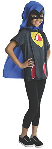 Rubies Teen Titans Go Raven Costume, Child Medium]()
