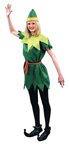 Morris Costumes Womens Story Book Peter Pan Theme Party Fancy Halloween Dress, One Size (8-12)